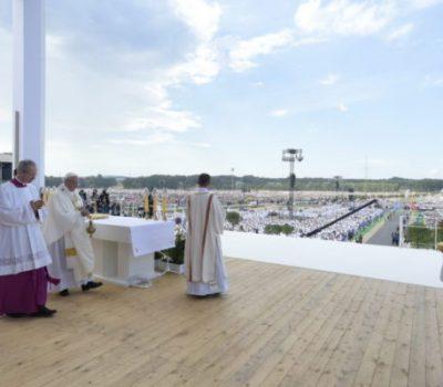 SS. Papa Francesco - Viaggio Apostolico Polonia GMG-S. Messa per la GMG  31/07/2016   @Servizio Fotografico - L'Osservatore Romano