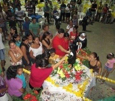 Santa Rita com o povo de Tapauá 22Maio2014